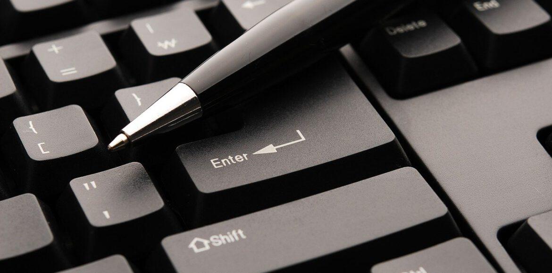 keyboard, pen, plan