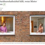 Nachbarschaftszirkel im Hamburger Abendblatt