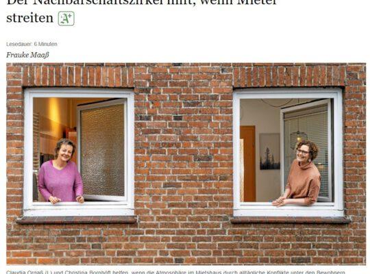 Nachbarschaftszirkel im Abendblatt